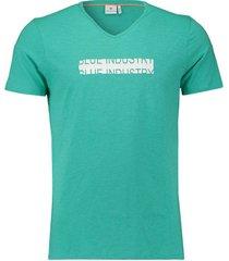 t-shirt aqua groen