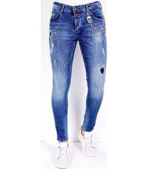 skinny jeans local fanatic super stretch jeans