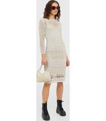y.a.s yasharper 7/8 knit midi dress ft fodralklänningar