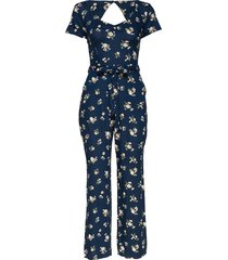 dress jumpsuit blå hollister