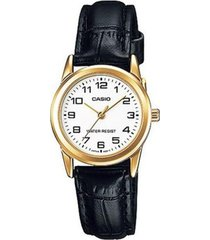 reloj analógico mujer casio ltp-v001gl7b - negro con blanco