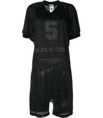 comme des garçons pre-owned basketball jersey dress - black