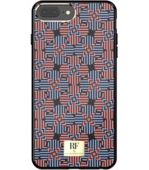richmond & finch tommy stripes case for iphone 6/6s, iphone 7, iphone 8 plus