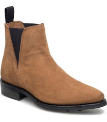 savannah low-703 shoes boots chelsea boots ankle boot - flat brun primeboots