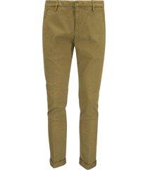 dondup gaubert - slim-fit gabardine trousers