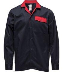 dominic shirt skjorta casual blå wood wood