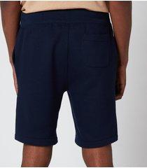 polo ralph lauren men's fleece shorts - cruise navy - xl