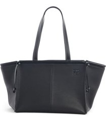 loewe cushion leather convertible gusset tote -