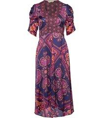 insanely right long dress knälång klänning multi/mönstrad odd molly