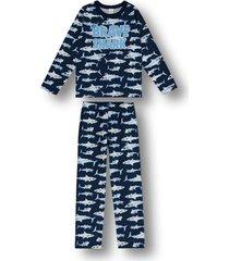 pijama marisol azul - azul - menino - dafiti