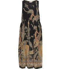 carboa sl maxi dress knälång klänning multi/mönstrad only carmakoma