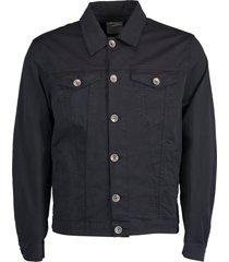 cotton button front jacket