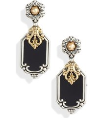 women's konstantino calypso shield drop earrings
