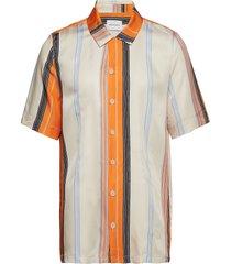 boxy shirt short sleeve overhemd met korte mouwen multi/patroon holzweiler