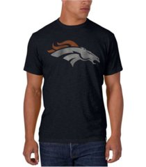 '47 brand men's denver broncos logo scrum t-shirt