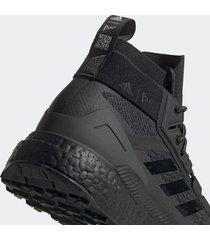 adidas x parley mission men's terrex free hiker parley hiking shoes - core black - uk 10