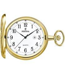 reloj f2028/1 dorado hombre bolsillo festina