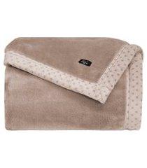 cobertor manta blanket 700 casal fend claro  - kacyumara