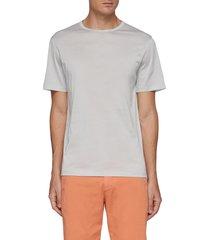 'precise' crewneck luxe cotton t-shirt