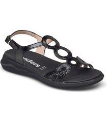 c-5630 lack shoes summer shoes flat sandals svart wonders