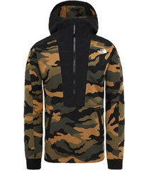 "sweater the north face graphic zip hoodie nse ""camo"""