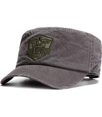 cappellino solido solido del cotone degli uomini cappello pieghevole di baseball degli eserciti di addestramento militare esterni registrabili