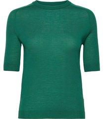 day birger et mikkelsen x boozt day whitney t-shirts & tops knitted t-shirts/tops grön day birger et mikkelsen