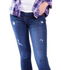 pantalon brahma mujer azul pan0047-azu