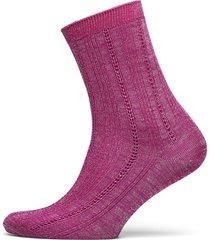 glitter drake sock lingerie socks regular socks rosa becksöndergaard