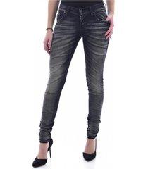 jeans skinny stretch bicolore
