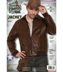 buyseasons men's 1940's men's bomber jacket adult costume