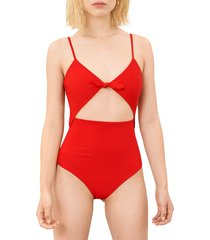 women's mara hoffman kia cutout one-piece swimsuit