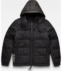 g-star d20124 c442 quilted padded winterjack 6484 dk black -