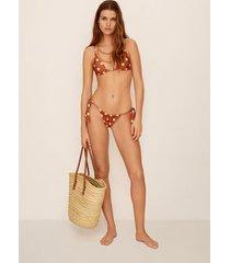 gestippelde bikinitop
