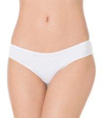 calcinha cintura alta liz básica 50330 - t.p/g branco
