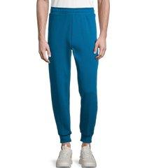 puma men's essential fleece pants - blue - size xxl