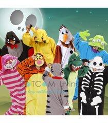 cosplay anime pyjamas costume hoodies animal adult hoodie unisex fancy dress