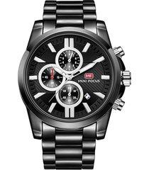 reloj análogo f0134g-4 hombre negro