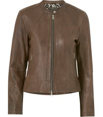 skinnjacka diora classic leather jacket