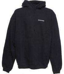 balenciaga balenciaga oversize dèfilè hoodie