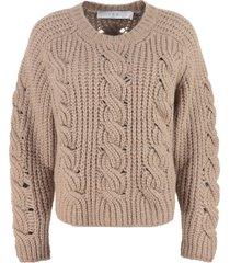 iro babe long sleeve crew-neck sweater