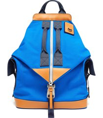 eye/loewe/nature panelled convertible backpack