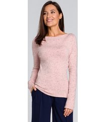 sweter delikatnie dopasowany klasyczny