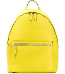 mulberry zipped one shoulder backpack - yellow
