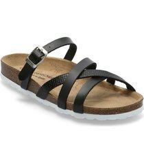 eshita21 shoes summer shoes flat sandals svart re:designed est 2003
