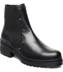 idella_f19_clf shoes boots ankle boots ankle boots flat heel svart unisa