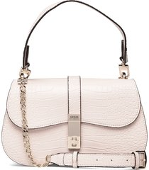 asher shoulder bag bags top handle bags crème guess