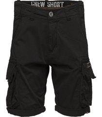 crew short shorts casual svart alpha industries