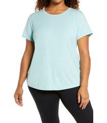 plus size women's zella energy short sleeve t-shirt