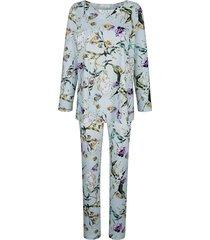 pyjama mona ijsblauw::groen::paars